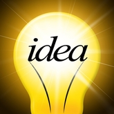 Picture light bulb represents creativity for adding property value